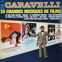 Caravelli - Cd 24 Grandes Musiques De Films (1974) Orquestra