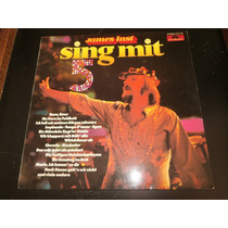Lp James Last - Sing Mit 5, Disco Vinil, Ano 1976