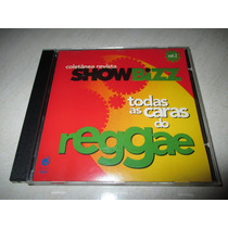 Cd Todas As Caras Do Reggae - Coletânea