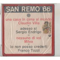 Compacto Vinil San Remo 66 - Fermata