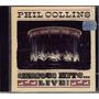 Cd Phil Collins - Seriouns Hist Live