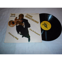 Louis Armstrong Lp Vunil Live In Concert Recorded At The
