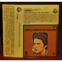 Fita K7 Chico Buarque - 1977 - Raro!