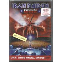 Iron Maiden - En Vivo Dvd Duplo Lacrado