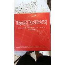 Box Lp Iron Maidem 8 Discos Lacrado Importados