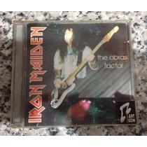 Cd Iron Maiden The Obras Factor Ao Vivo Argentina Original *
