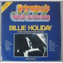 Lp - Billie Holiday - Gigantes Do Jazz
