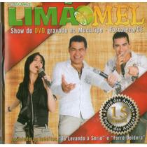 Cd Limão Com Mel - Gravação Dvd No Mucuripe - Fortaleza/ce -