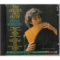 Cd The Golden Pan~flute Peter Weekers