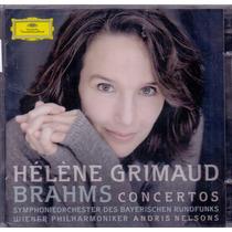 Cd Duplo Brahms- The Piano Concertos, Grimaud, Nelsons -novo