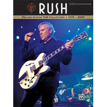 Rush Livro Tablatura Guitarra Alex Lifeson 1975 A 2007 Novo