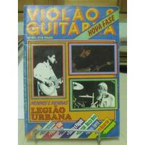 Revista - Violão E Guitarra Meninos E Meninas Legião Urbana