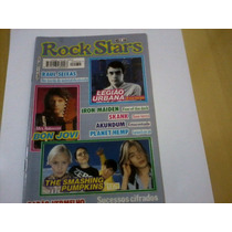 Revista Rock Stars Nº34 Bon Jovi Legião Urbana Smashing