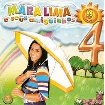 Cd Mara Lima E Seus Amiguinhos 4 / Playback Incluso.