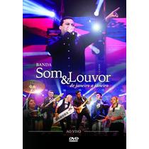 Dvd Banda Som & Louvor De Janeiro A Janeiro (2014) * Lacrado