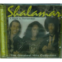 Funk Black Dance Cd Shalamar A Night To Remember Importado