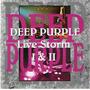 Deep Purple Live Storm I & Ii 1993 2cd (italy)(ex-/ex) Impor