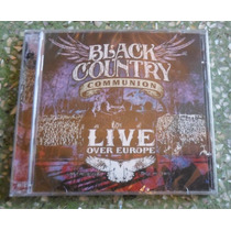 Cd Black Country Communion - Live Over Europe - Duplo - Lac.
