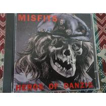 Misfits Cd Heros Of Danzig Live Los Angeles 1983 Rarissimo !