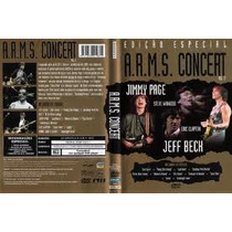 Dvd A.r.m.s Concert Vol 2 Jimmy Page Jeff Beck Eric Clapton