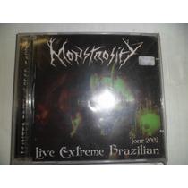 Cd Nacional - Monstrosity - Live Extreme Brazilian Tour 2002