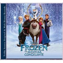 Cd Frozen Uma Aventura Congelante - Fjba
