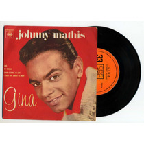 Lp Vinil - Johnny Mathis - C.duplo - Gina - Cbs Discos