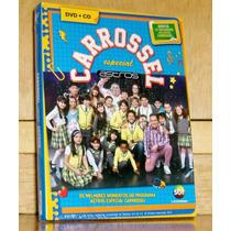 Dvd + Cd Carrossel - Especial Astros - Grátis 12 Tatuagens
