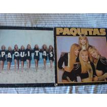 Lote C/ 2 Discos - Paquitas (1989 E 1991)