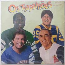 Lp Os Trapalhões - Parque De Diversão - 1988 - Philips (com