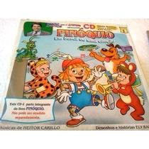 Cd Pinoquio Em Busca De Uma Cançao Silvio Santos P/ Crianças