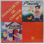 Lp Ramalhete De Contos Nº 2 - Pinochio - Os 3 Porquinhos - 1