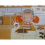 Adesivo Cozinha Divertida Dona Benta 75x45cm Geladeira