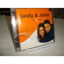 Cd Sandy & Junior Sem Limite Arte Som Album Duplo