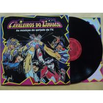 Os Cavaleiros Do Zodíaco- Lp Músicas Seriado- 1995- Encarte!