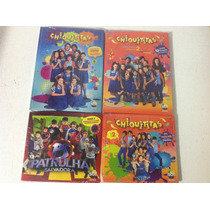 Dvd Chiquititas Video Hits Vol 1 E 2 + Cd Vol 2 + Cd Patrul