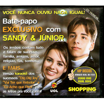 Cd Sandy E Junior Bate Papo Exclusivo Uol Shopping Music