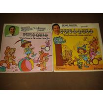 Lp + Livro Silvio Santos Para Crianças N°1 Pinoquio Raro