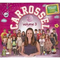 Cd Carrossel - Remixes Vol. 3 - Novo***