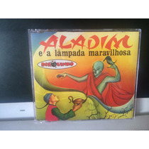 Aladim E A Lâmpada Maravilhosa, Cd Coleção Disquinhos, 2001