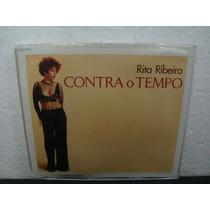 Rita Ribeiro - Contra O Tempo - Cd Single Nacional