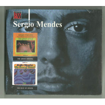 Cd-sergio Mendes-2 Em 1-the Great Arrival/the Beat Of Brazil