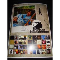 Milton Nascimento Poster (clube Da Esquina) (frete Grátis)