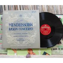 Orquestra Sinfônica Viena Concerto Para Violino -10p Importa