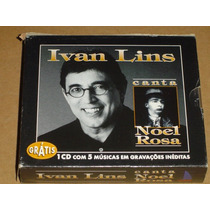 Ivan Lins Canta Noel Rosa Tributo 3 Cd Box Novo E Lacrado