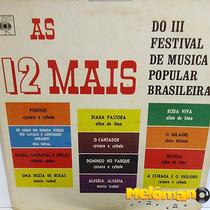As 12 Mais 1967 3º Festival De Música Popular Brasileira Lp