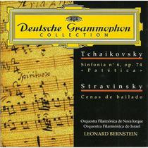 Trchaikovsky Stravinsky Leonard Bernstein