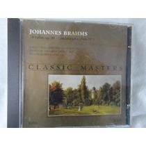 Cd Johannes Brahms - 16 Valsas Op. 39 E Concerto P/piano Nº1