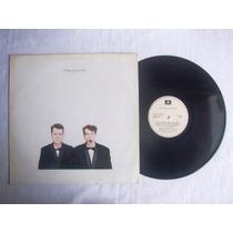 Lp Pet Shop Boys - Actually - 1987 - C/ Encarte - 100%