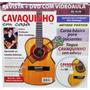 Revista + Dvd Cavaquinho Samba Pagode Mpb Sertanejo... + Nfe